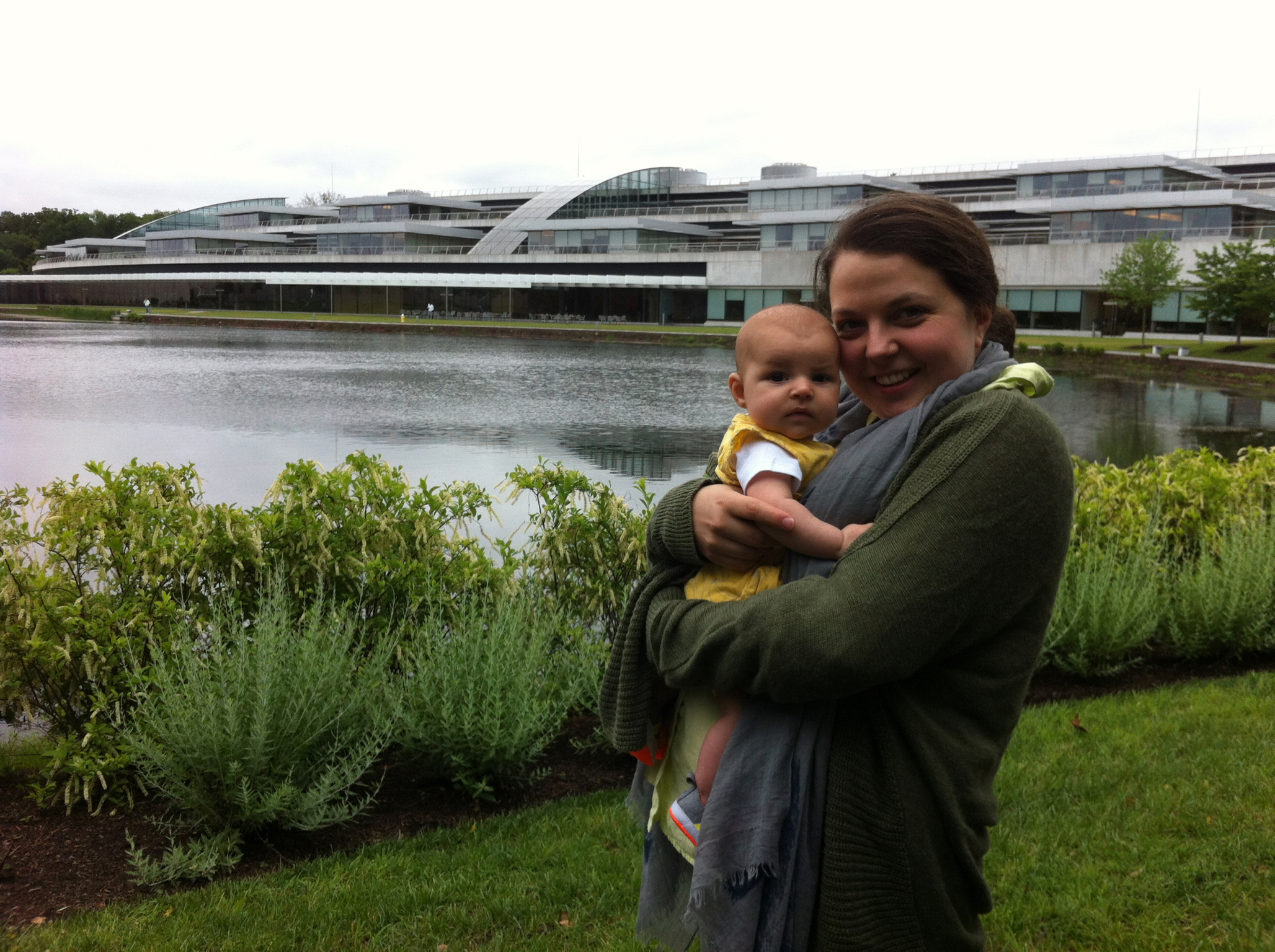 Hanging out at Janelia